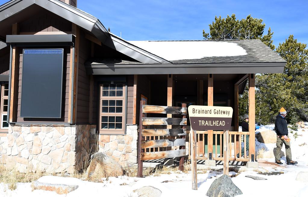 . The warming hut at Brainard Lake Recreation Area on Thursday. Cliff Grassmick  Photographer November 9, 2017