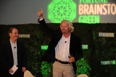 Fortune Brainstorm Green 2011: Laguna Niguel: richard Branson speaking with Andy Serwer