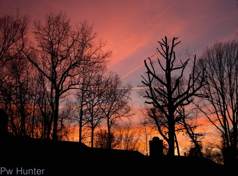 Shapes at Sunset
