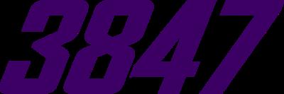 3847 (Purple)