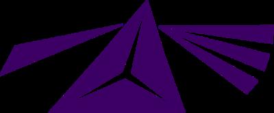 Logo Triangle No Background (Purple)