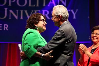 Supreme Court Justice Sonia Sotomayor and MSU Denver President Jordan