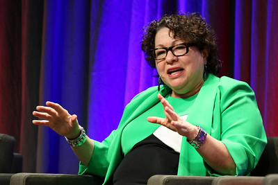 Justice Sotomayor giving a speech at MSU Denver