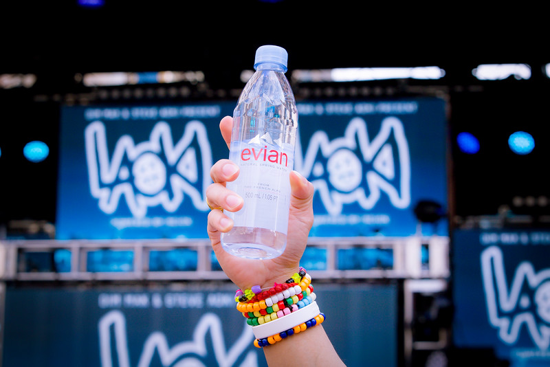 Evian Water/Relativity Media/Steve Aoki
