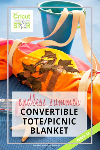 Endless Summer Convertible Tote/Picnic Blanket