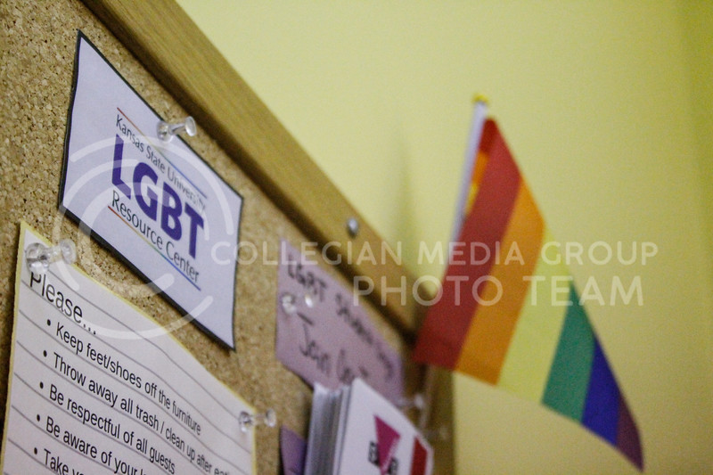 The LGBT Resource Center located in Holton Hall is an on-campus space in Holton Hall that offers support and other services to students of the LGBTQ community and its allies. The 2020-2021 academic year is the center's 10th academic on campus. (Kaylie McLaughlin   Collegian Media Group)