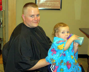 Brandon First Hair Cut