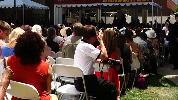 Brandon graduation day