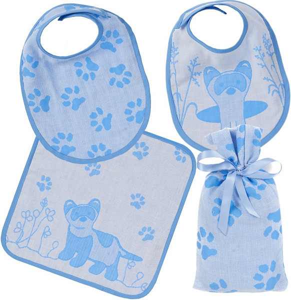 Bib and Face Washer Gift Set