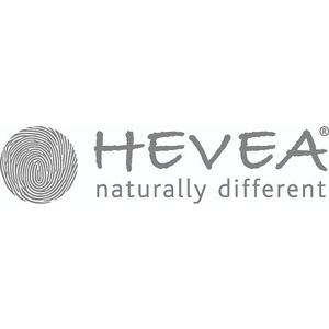 HEVEA® BIG COPORATE BRAND LOGO - HORISONTAL LOGO + TAGLINE  grey