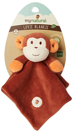 Monkey Lovie Blanket
