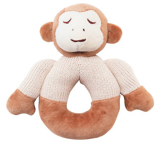 Monkey Knitted Teether