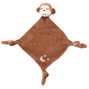 Monkey Sleepytime Lovie Blanket