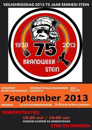 75 jaar Brandweer Stein