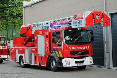 Internationale brandweeroefening Aachen