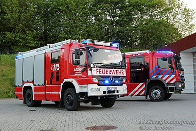 Verbroederingsavond brandweer Vaals en Feuerwehr Aachen-Laurensberg