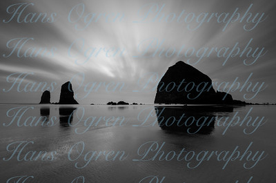 Haystack Rock Black and White