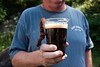 KELLY FLETCHER, REFORMER CORRESPONDENT -- Whetstone Station served up their beer with bacon at Baconfest on Saturday at Kampfires Campground in Dummerston