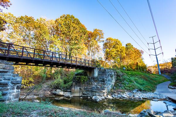 W&OD Bridge - Glencarlyn Park