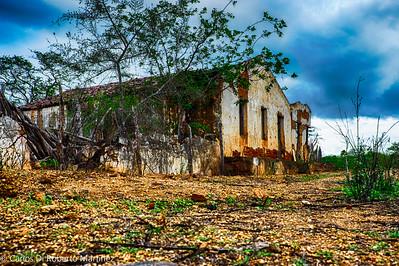 "Abandoned House, Paraiba State ""Sertao"", near Cabaceiras"