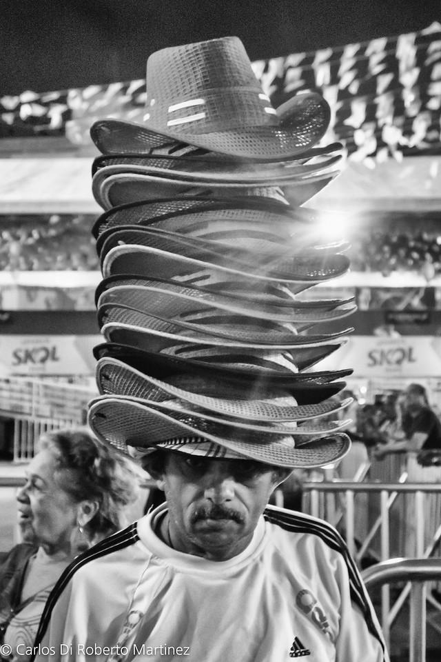 Hat Seller, Festa de Sao Joao, Campina Grande, Paraiba State