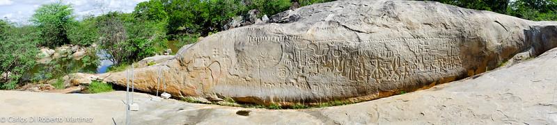 Archeologic Site, Inga Stone, Paraiba State