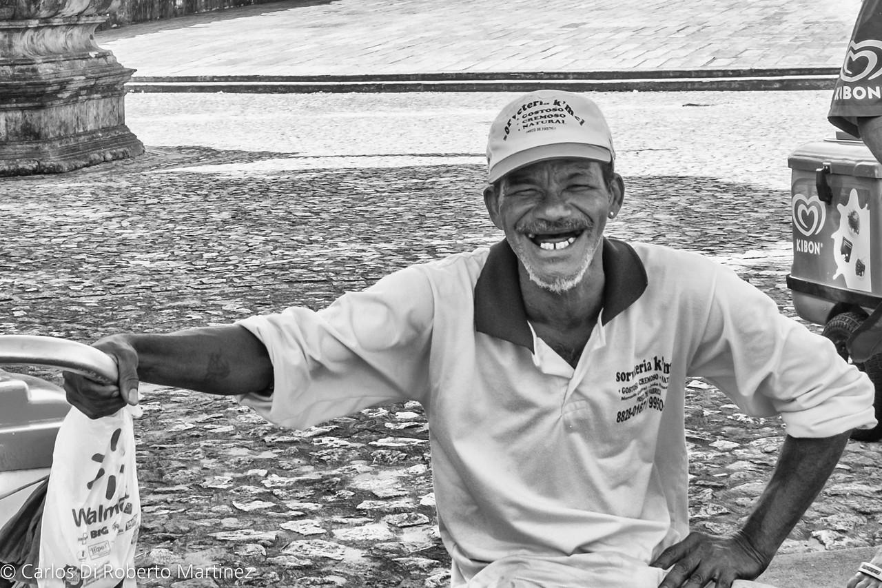 Ice Cream Seller, Joao Pessoa, Paraiba State