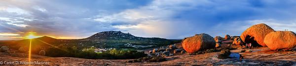 Lajedo do Pai Mateus, Paraiba State Panorama