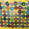Art painted on CDs-1