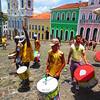 Pelourinho - Largo do Pelourinho (plaza) olodum (African drum troop)-3