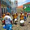 Pelourinho - Largo do Pelourinho (plaza) olodum (African drum troop)-5