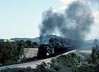 Dona Teresa Cristina Railway 2-10-4 No 304, near Imbituba, Brazil, 21 October 1976 1.  Tackling a short bank with a coal train for the docks at Imbituba.  Photo by Les Tindall.
