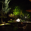 Cristalino lodge at night