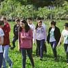 Cobertura fotográfica da Ação com Jovens do Projeto Agenda 21 do Cerne no Horto Municipal de Campo Largo–19 de Novembro de 2015. Fotógrafo: Arnaldo Belotto