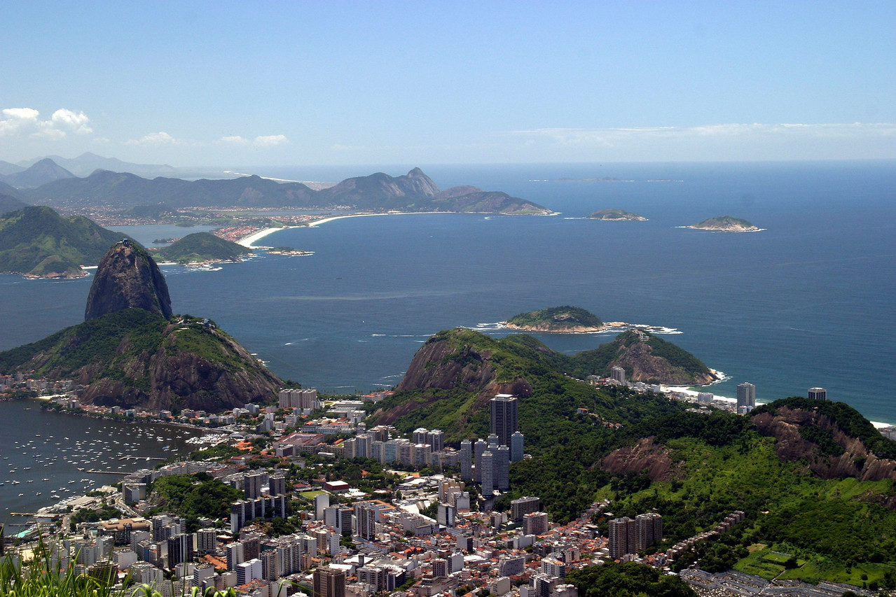 Sugar Loaf from the Corcovado 2004