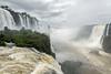 Devil's-Throat-with-hundreds-of-dusky-swifts,-Foz-do-Iguacu-from-the-Brazil-walkay