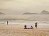 Family, Lablon Beach, Rio de Janeiro, Brazil