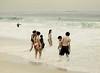 In the Surf, Ipanema Beach, Rio de Janeiro, Brazil