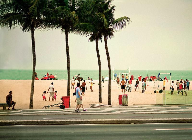 Volleyball, Lablon Beach, Rio de Janeiro, Brazil