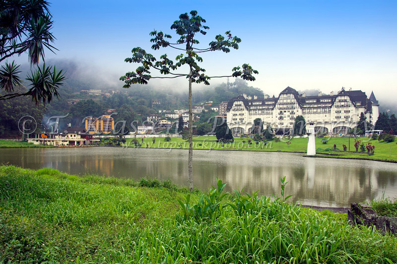 The Quitandinha Palace hotel in Petropolis, Brazil.