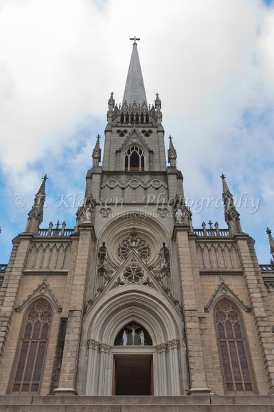 Cathedral of Saint Peter of Alcântara, Igreja Sao Pedro de Alcantara, Petropolis, Rio de Janeiro, Brazil, South America.