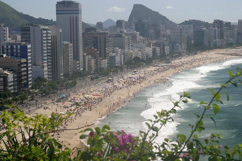 Impanema Beach Rio de Janeiro scenes