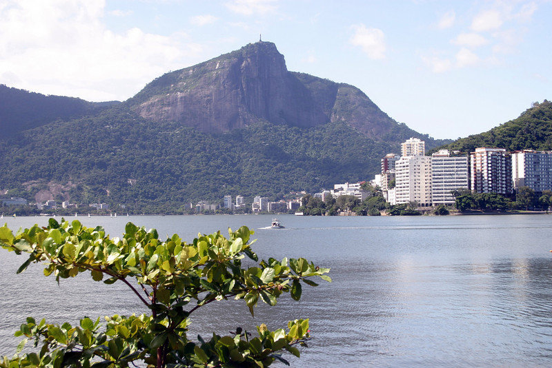 by Lago Rodrigo de Freitas, Ipanema Rio de Janeiro scenes