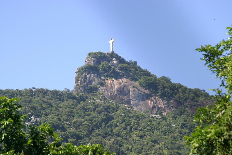 the Corcovado. Rio de Janeiro scenes
