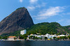 Sugarloaf Mountain and the district of Urca in Rio De Janeiro, Brazil.