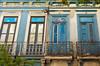 Historic colonial architecture in the Santa Teresa district of Rio de Janeiro, Brazil.