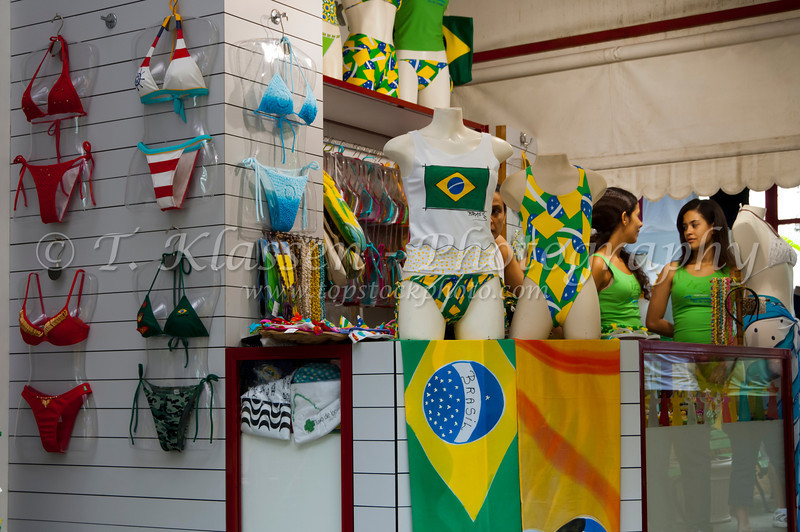 A bathing suit shop in Rio de Janiero, Brazil.