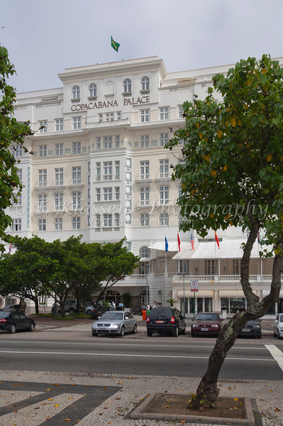 The Copacabana Palace Hotel in Rio de Janiero, Brazil.