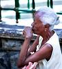 White-Haired Lady, Catholic Church, Rio de Janeiro, Brazil