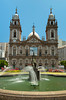 The Candeleria Cathedral in downtown Rio de Janeiro, Brazil.